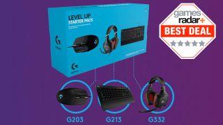 Get a massive saving on this Logitech PC gaming starter set