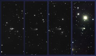 Comet ISON Seen by Gemini Observatory