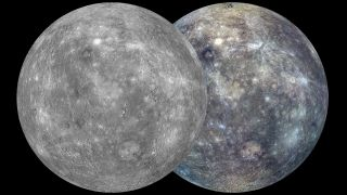 The most complete maps ever of planet Mercury, as seen by NASA's Messenger spacecraft.