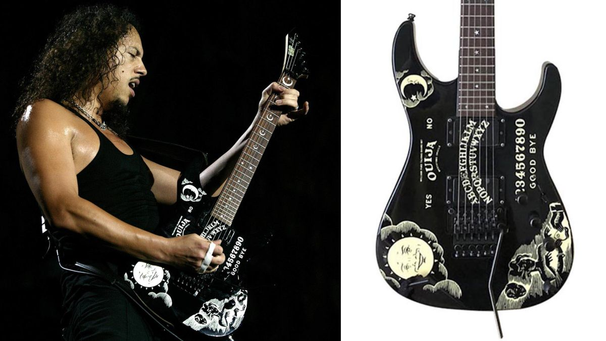 Kirk Hammett's Ouija Board ESP – as used on the Black Album, Load and Reload – is up for auction