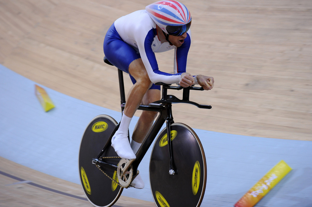 Bradley Wiggins Olympic record individual pursuit