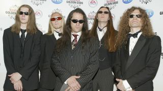 Akercocke arrive at 'The Metal Hammer Golden Gods Awards' at Ocean on June 7, 2004