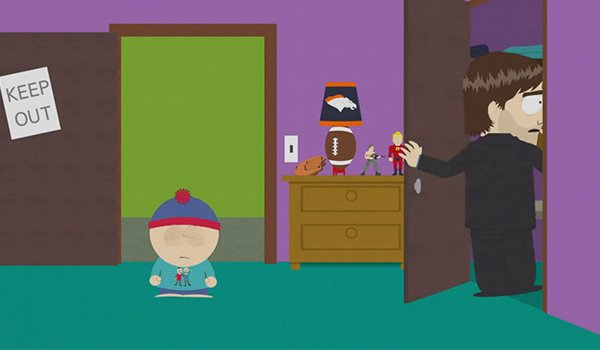 Tom Cruise is in the closet on South Park