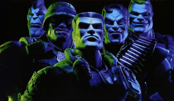 Small Soldiers Chip Hazard and his commandos