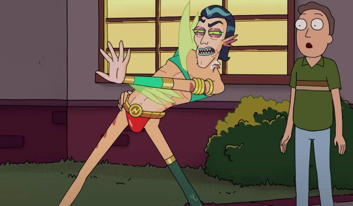 Mr. Nimbus Rick and Morty Adult Swim