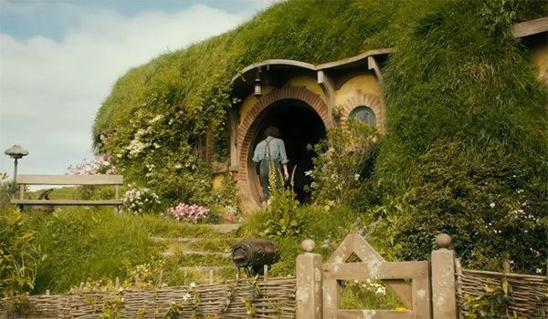 Bag End in the Shire