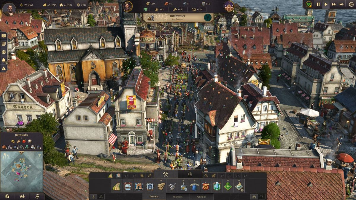 Anno 1800 review   PC Gamer