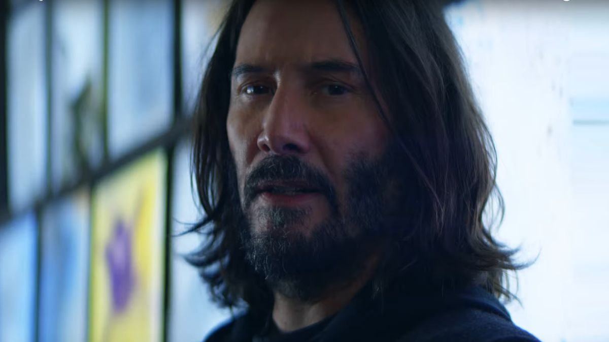 fxssCVe2jj9ioGzeKxwQfX 1200 80 Keanu Reeves asks why you want to visit Night City in new Cyberpunk 2077 ad null