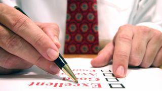 Man studies checklist