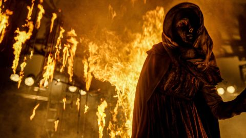 Everything goes up in flames in 'The Unholy.'
