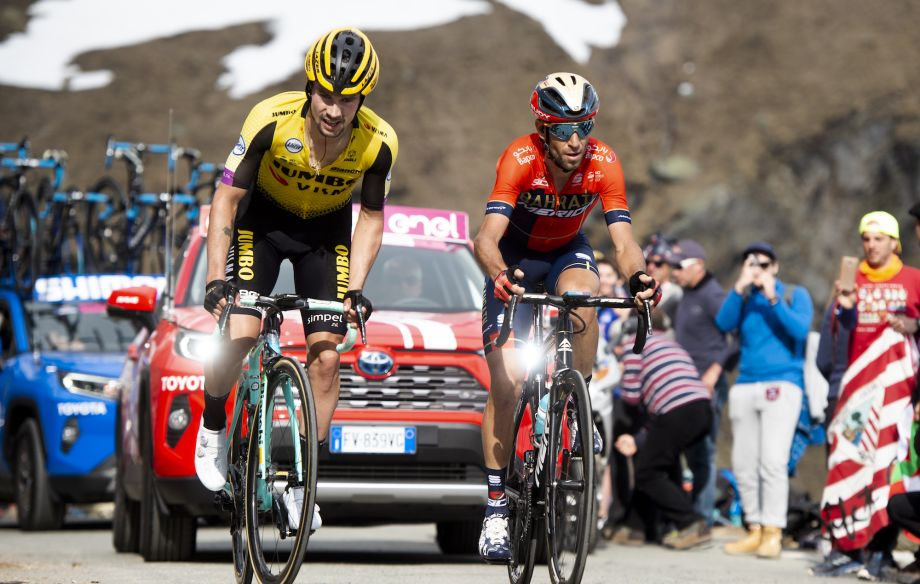 Vincenzo Nibali on Roglič outburst: 'My true character came out, it had been a hard day'