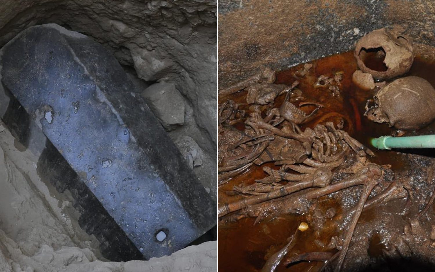 That Massive Black Sarcophagus Was Opened  Here's What's