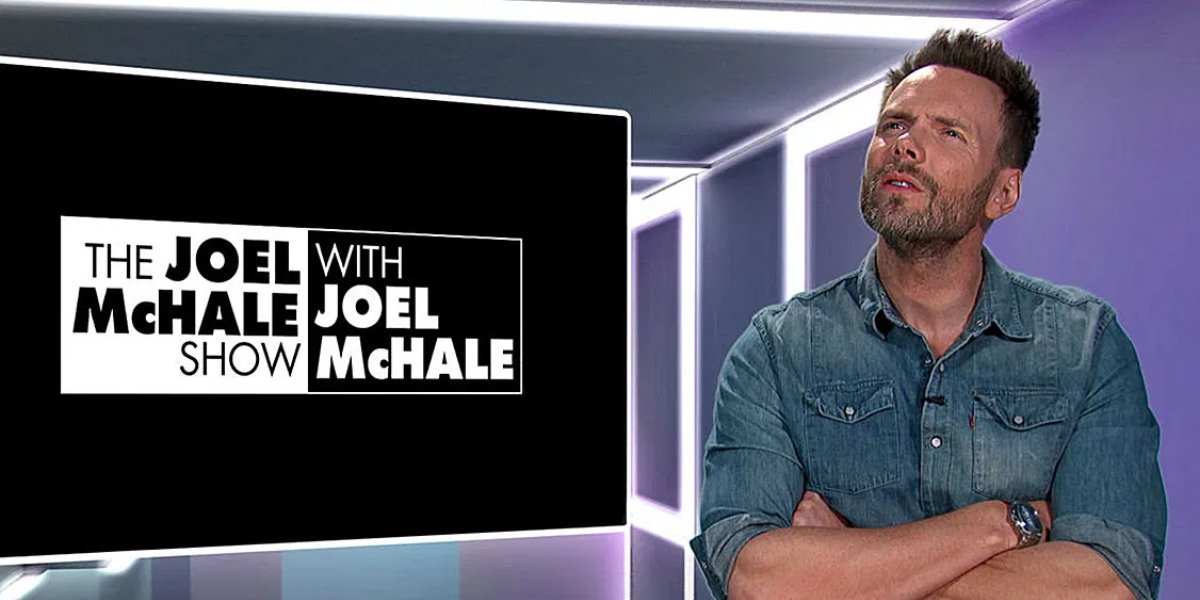 Joel McHale on The Joel McHale Show with Joel McHale
