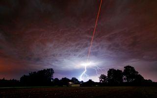 Laser Beam, Lightning Strike
