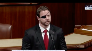 Representative Dan Crenshaw (R-Texas) introduces legislation changing a U.S. Space Force rank from colonel to captain.