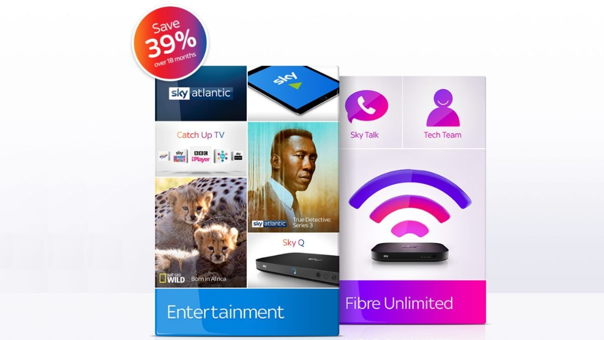 Get Sky Entertainment TV and fibre broadband for just £37 p/m in this flash sale