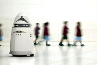 Knightscope's K5 robot security guard