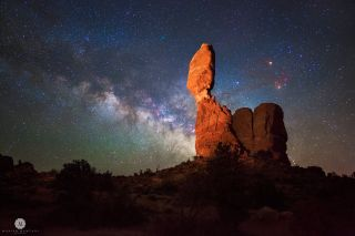 Milky Way from Arches National Park