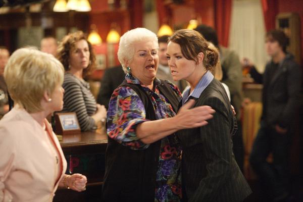 Pat and Janine's big fight on EastEnders | EastEnders