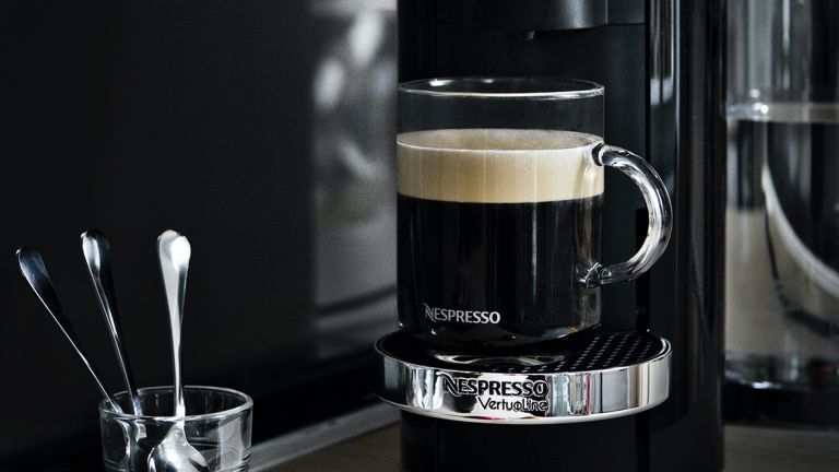Nespresso Vertuo Plus by Magimix pod coffee machine deal £100 off with 100 capsules