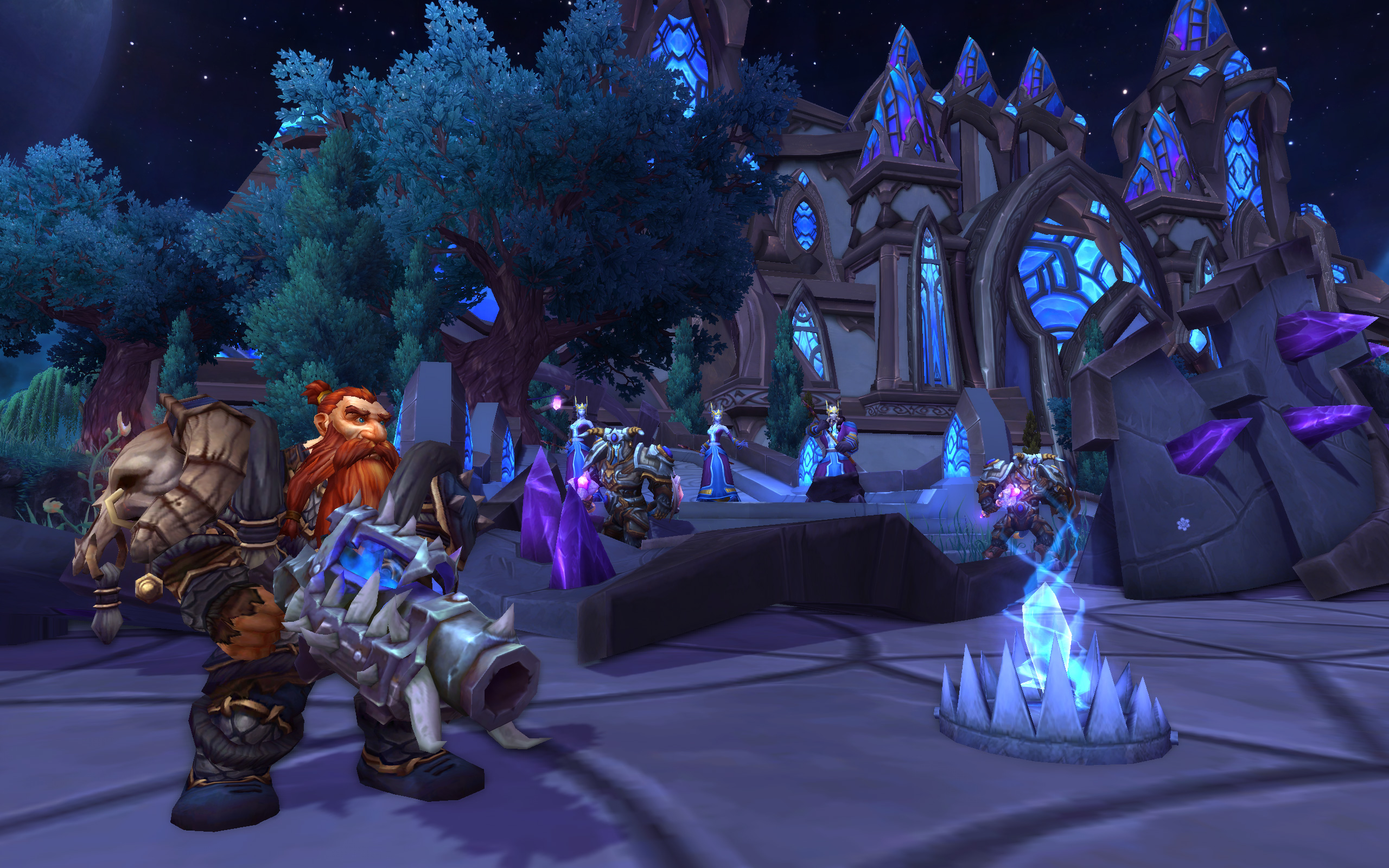 World Of Warcraft: Warlords Of Draenor Screenshots Travel To First Dungeon #30657