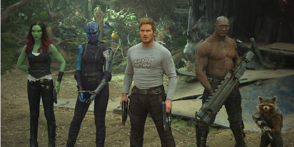 Guardians of the Galaxy Vol 2 Team Lineup