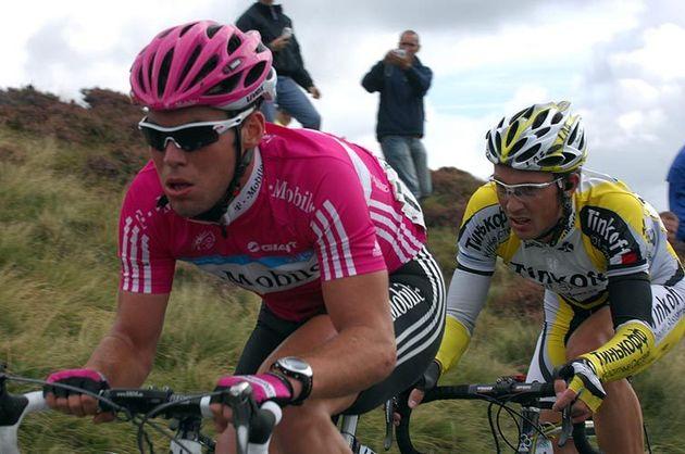 Mark Cavendish Alexander Serov Tour of Britain 2007 st5