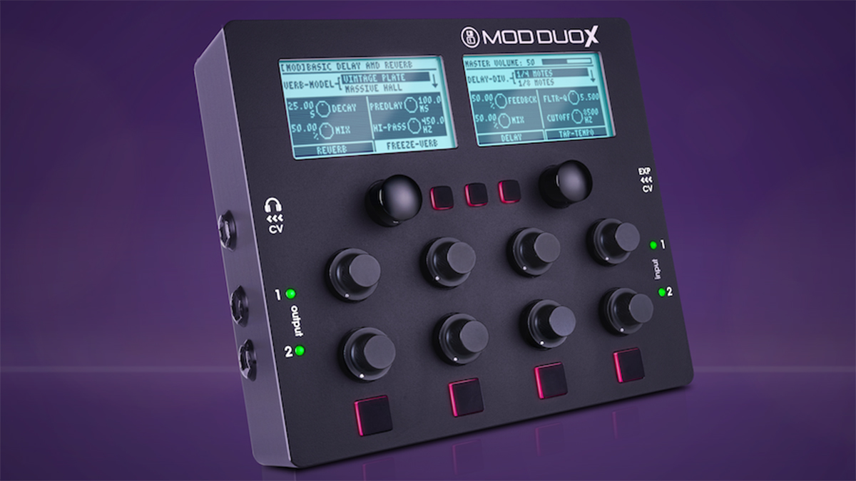"""NAMM 2019: The MOD Duo X is """"tailor-made to meet the needs of the electronic musician"""""""