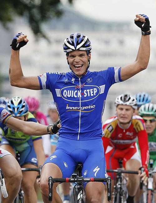 Tour de France stage two Gert Steegmans wins