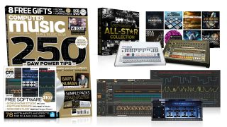 250 DAW POWER TIPS Software worth 107 for FREE Five Sample Packs MJ Cole Video Gary Numan Interview Music Software Hall of Fame