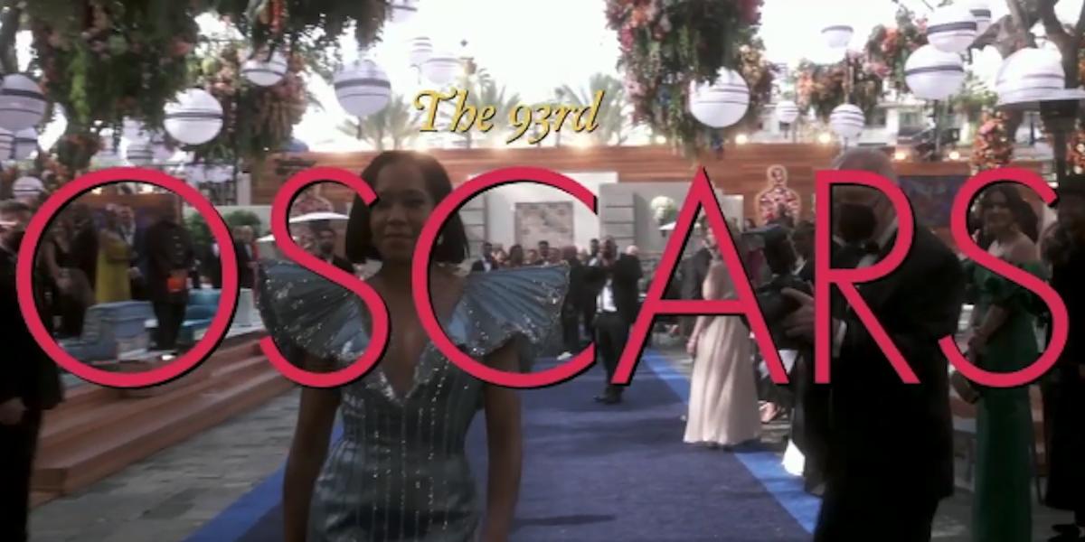 2021 Oscars opening credits with Regina King
