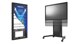 Chief Debuts Kiosk, LED, Electric Height-Adjust Solutions at ISE