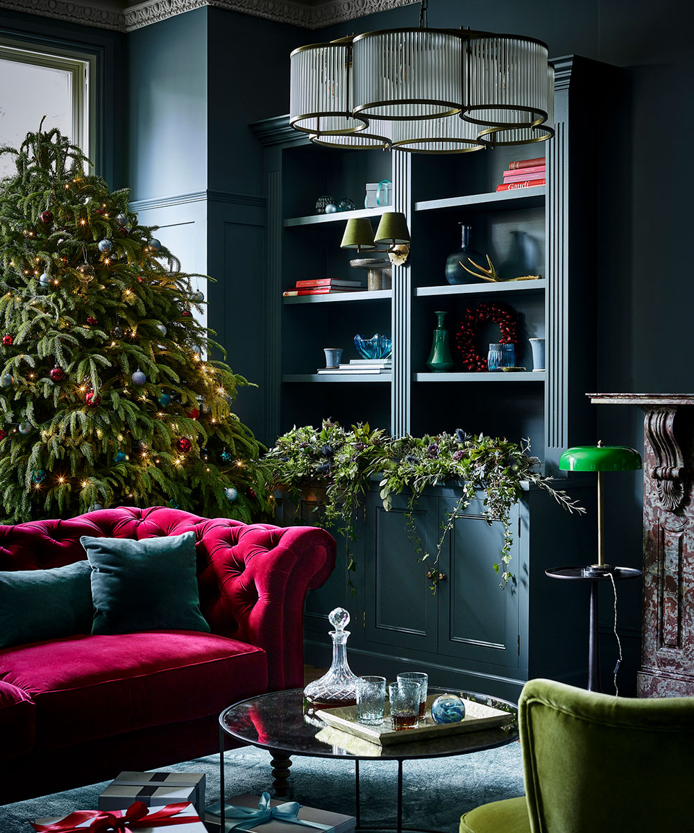 Christmas living room ideas to celebrate the festive season in style