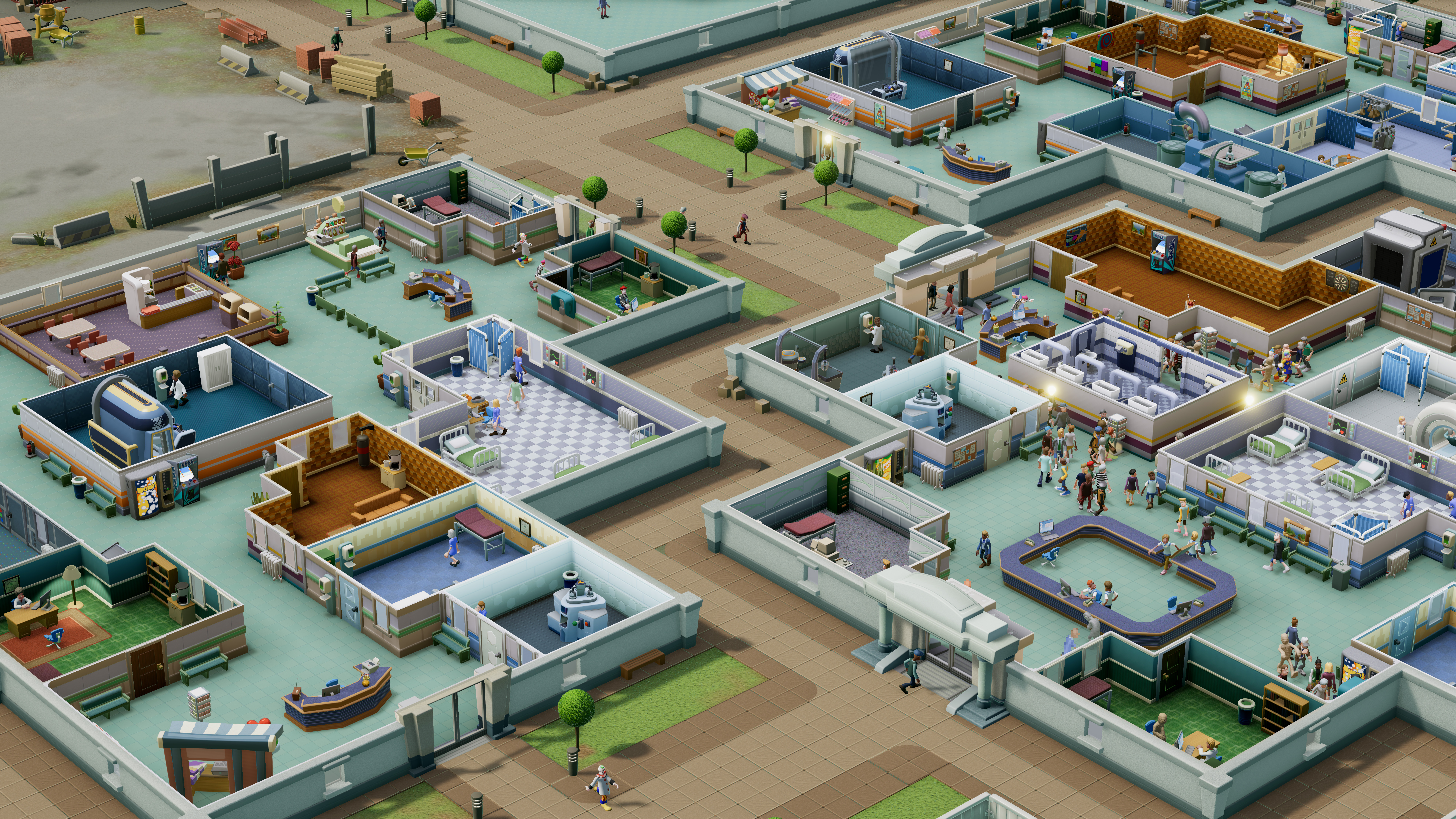 Two Point Hospital hands-on: Theme Hospital fans are getting the