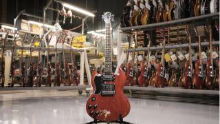 "Gibson's Tony Iommi signature ""Monkey"" 1964 SG Special Replica"