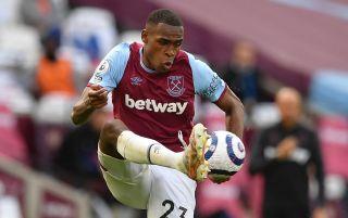 West Ham United defender Issa Diop