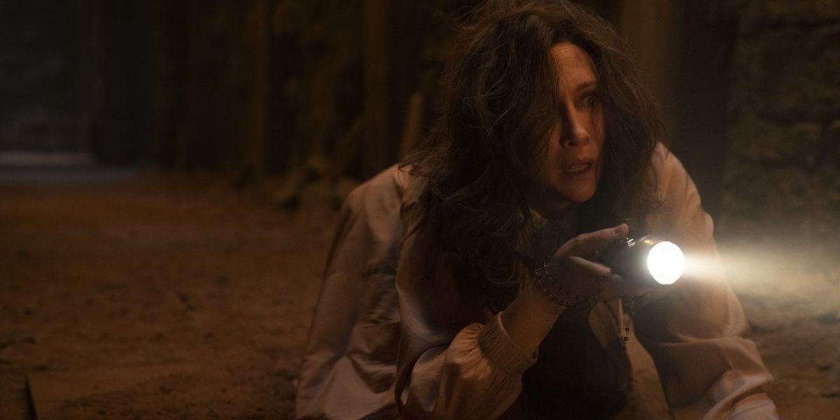Vera Farmiga as Lorraine Warren in Conjuring: The Devil Made Me Do It