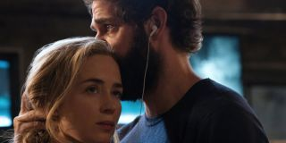 Emily Blunt and John Krasinki In A Quiet Place