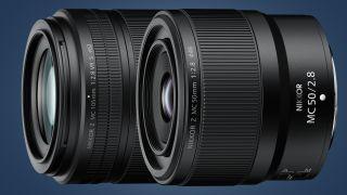 Nikon Nikkor Z MC 105mm F2.8 VR S and Nikkor Z MC 50mm F2.8