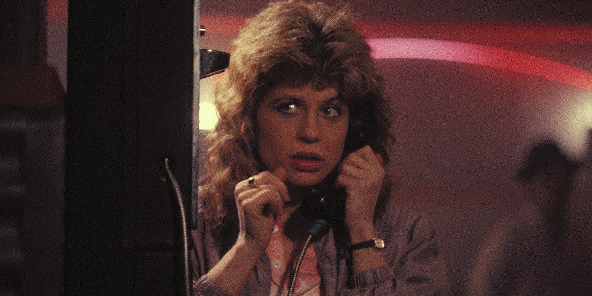 Linda Hamilton as Sarah Connor in The Terminator 1984