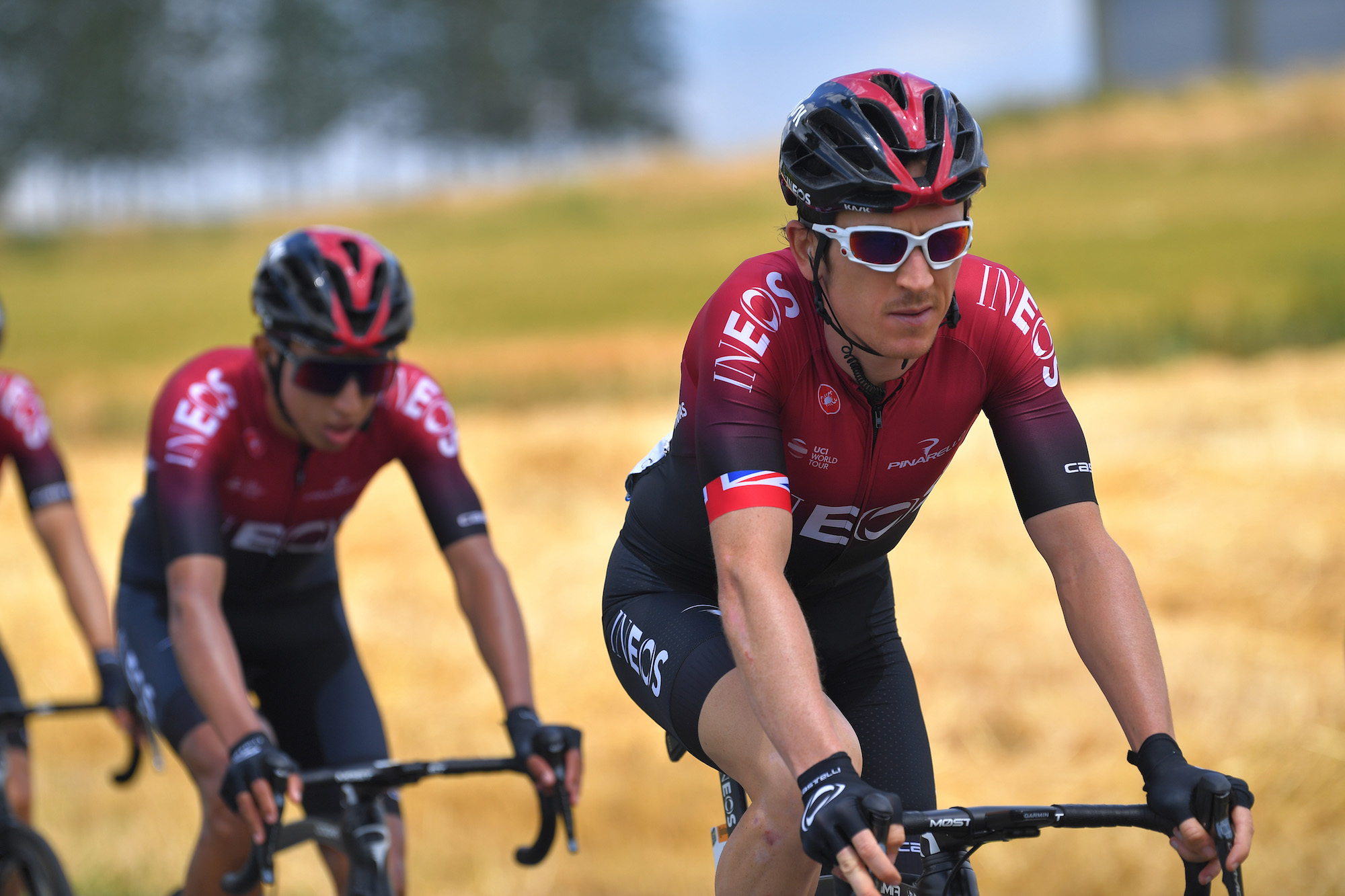 Geraint Thomas Not Sweating Early Tour De France Time Loss