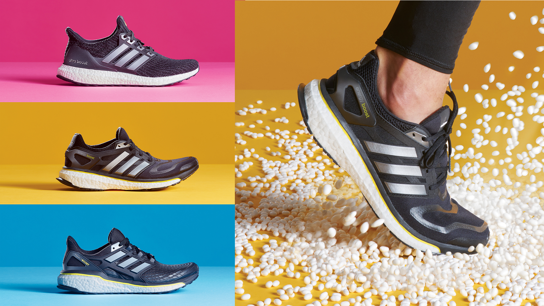 buy popular 6e911 3d604 Adidas Boost gets even Boostier with triple drop to celebrate its 5th  birthday