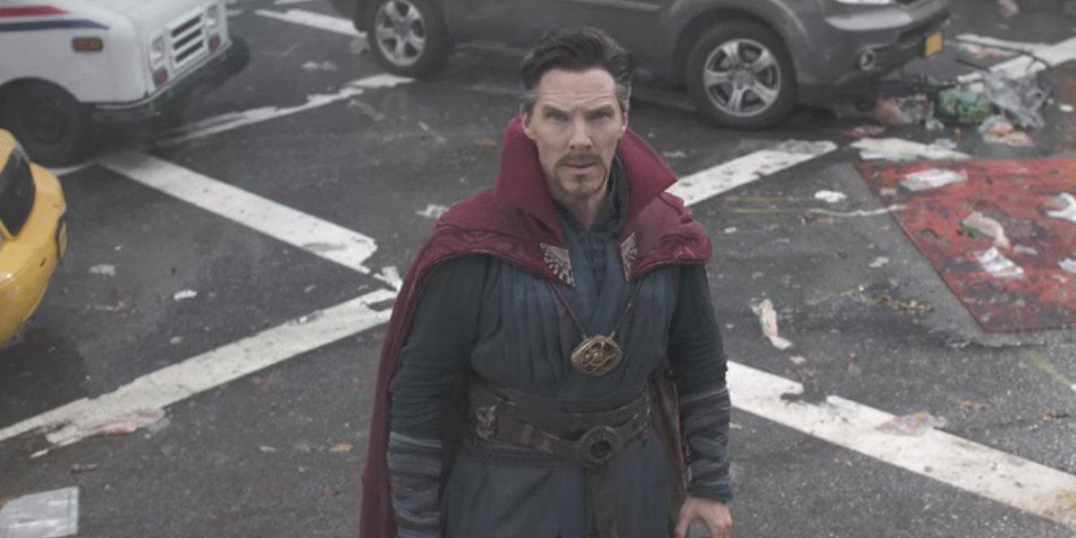 Benedict Cumberbatch in Avengers: Infinity War