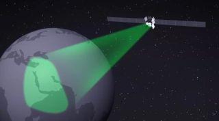WGS Satellite video still