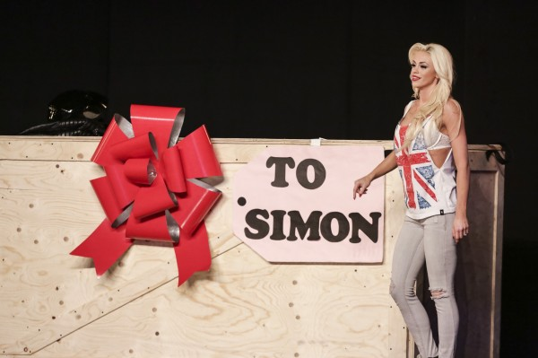 Chloe impresses Simon with her magic act (Tom Dymond/Syco/Thames TV)