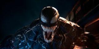 Venom full shot of mask 2018