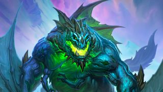 Hearthstone Galakrond the Wretched Warlock Dragon Legendary Hero