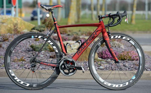 Ian Wilkinson's Raleigh Militis 2014 team bike
