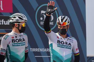 Peter Sagan returned to racing at Tirreno-Adriatico