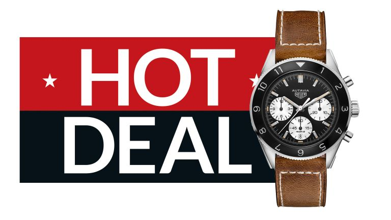 Save hundreds on these iconic Tag Heuer watches at Goldsmiths